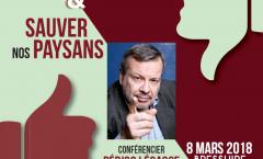 Conférence : Echapper à la malbouffe et sauvons nos paysans (Bressuire)