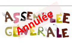Assemblée Générale annulée